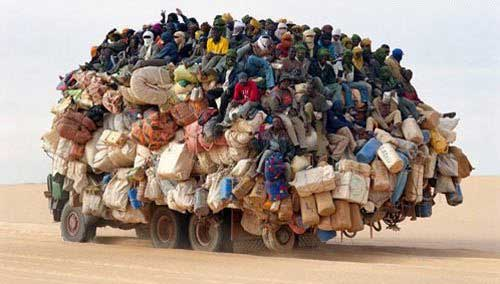 Transportation overpopulation tsunami of the poor