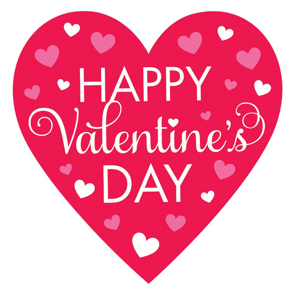 Happy Valentines Day in Heart