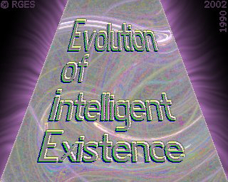 Evolution of Intelligent  Existence   Frax Corona © RGES
