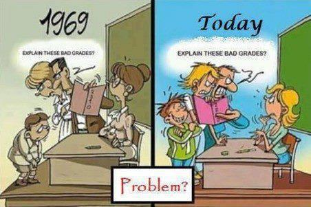 cartoon educational attitude difference between 1969 and today