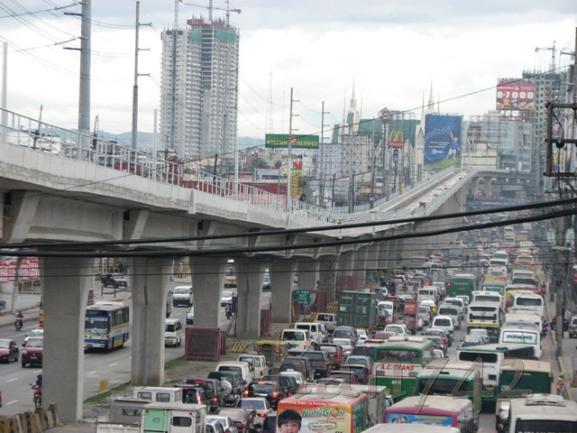 philippines overpopulation traffic